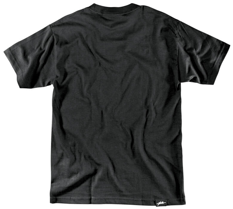Color White on Black- Tee